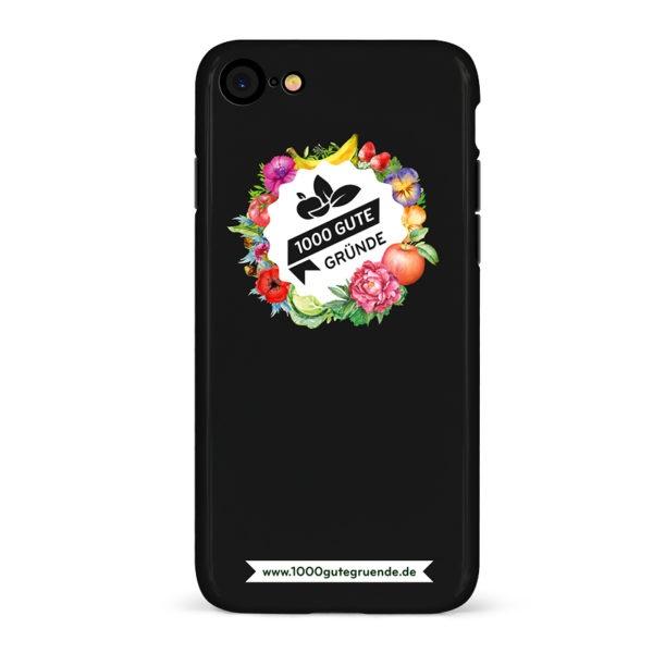 1000 Gute Gründe Smartphonehülle schwarz